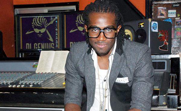 Chino in studio. Photo courtesy jamaica-star.com