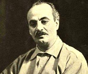 Khalil Gibran. Photo courtesy www.thefamouspeople.com