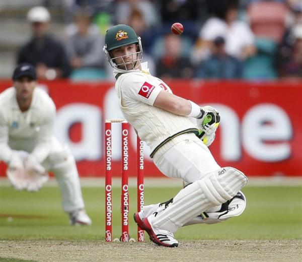 The late Phil Hughes avoids a bouncer. Photo courtesy www.odt.co.nz