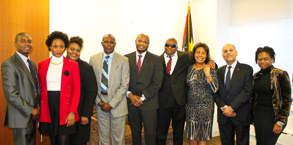Minister Michael With Heads of NY Office.-Photo courtesy Yendie Lynch.jpg