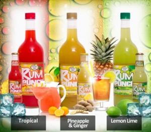 Rum Punch Description card.
