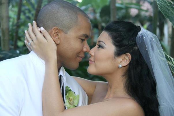 Tessanne Chin and Husband. Photo courtesy hypelifemagazine.com