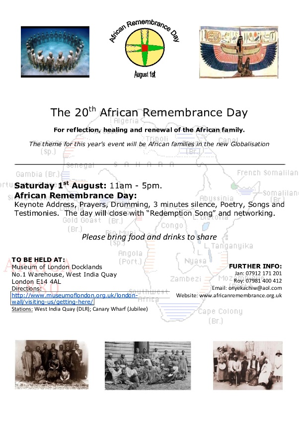 African Rememberance