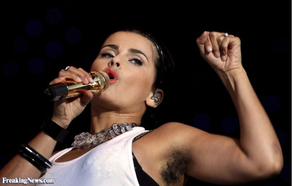 Nelly Futado. Photo courtesy www.freakingnews.com
