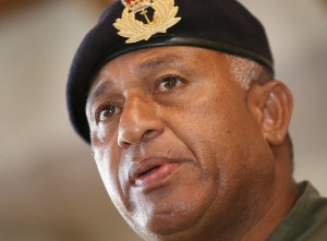 Fiji Prime Minister Frank Bainimarama. Photo courtesy www.theepochtimes.com
