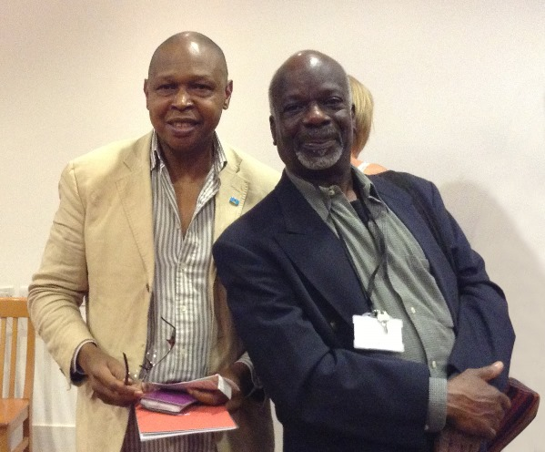 JD Douglas and Joseph Marcell.