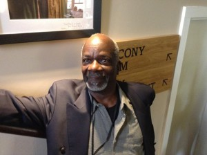 A proud Joseph Marcell at the Globe Theatre