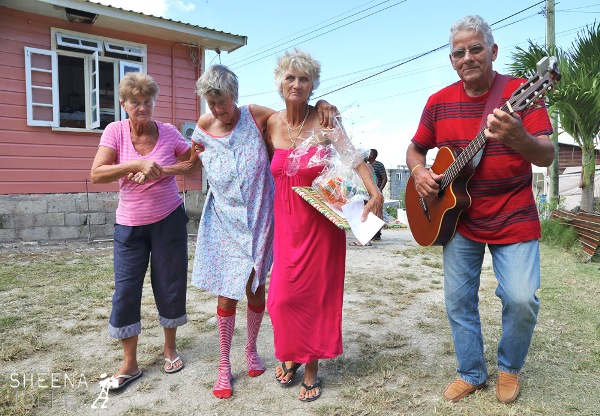 Music and a Helping Hand. Photo by Sheena Joley.