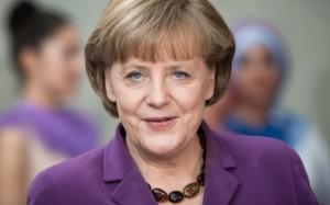 German Chancellor Angela Merkel. Photo courtesy vickynanjappa.com