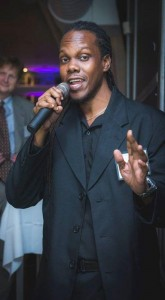 Damian served as MC for the corporate launch of Power Squad Entertainment