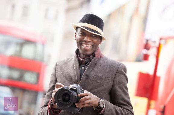 Celebrity Nigerian Photographer Daniel Sync. Photo courtesy africarazzi.com