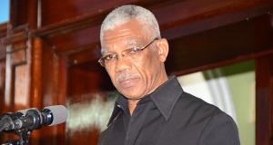 President David Granger. Photo courtesy guyanachronicle.com