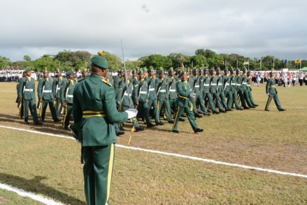 Members of the Barbados Defence Force. Photo courtesy http://www.barbadostoday.bb/