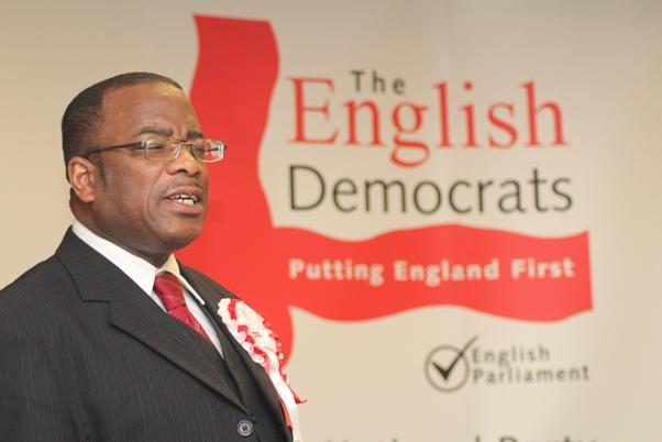 English Democrats Mayoral Canditate Winston McKenzie. Photo courtesy CaribDirect