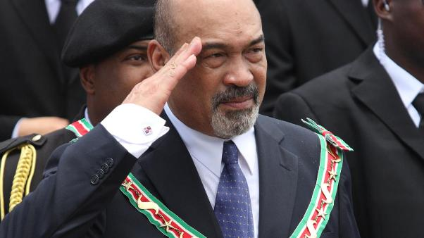 Suriname President Desi Bouterse. Photo courtesy www.nu.nl