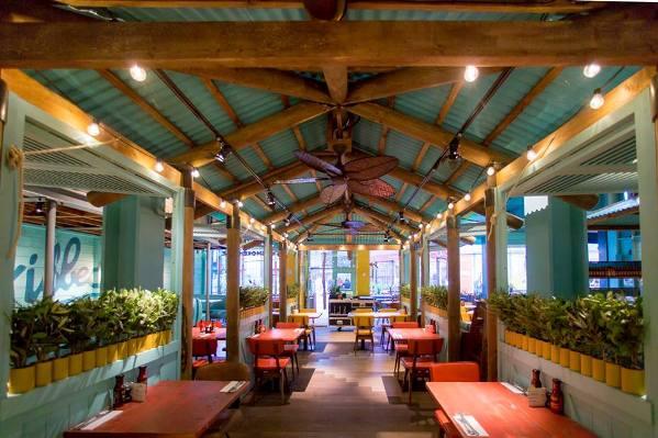 Inside Levi Roots Caribbean Smokehouse. Photo courtesy  http://www.chubmagazine.com/