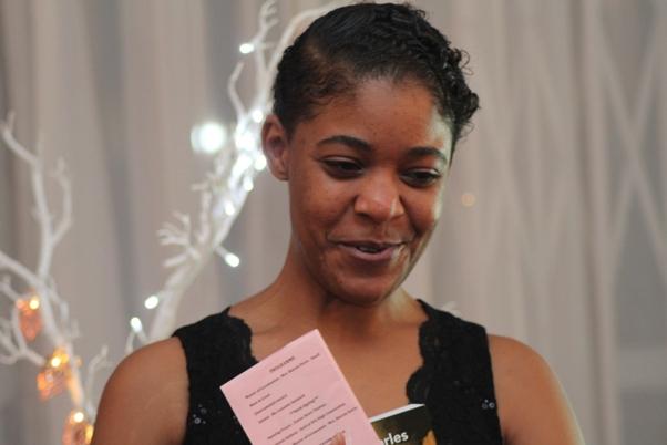 Master of Ceremonies Mrs Sharon Davis-Small. Photo courtesy David F. Roberts / CaribDirect