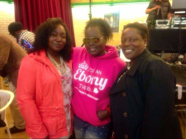 Ebony and mom
