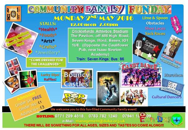 01 Flyer-Community Family Fun Day-2nd May 2016-Front