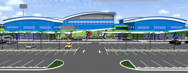 Concept drawing of Argyle International Airport. Photo courtesy www.dutyfreemagazine.ca