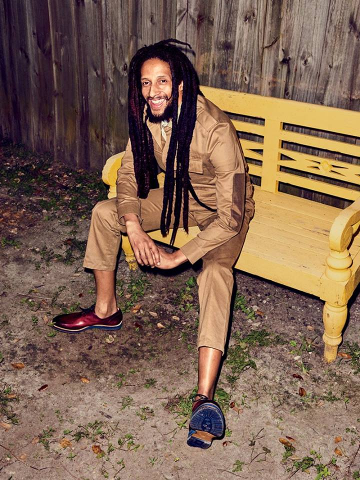 Julian Marley. Image courtesy GQ