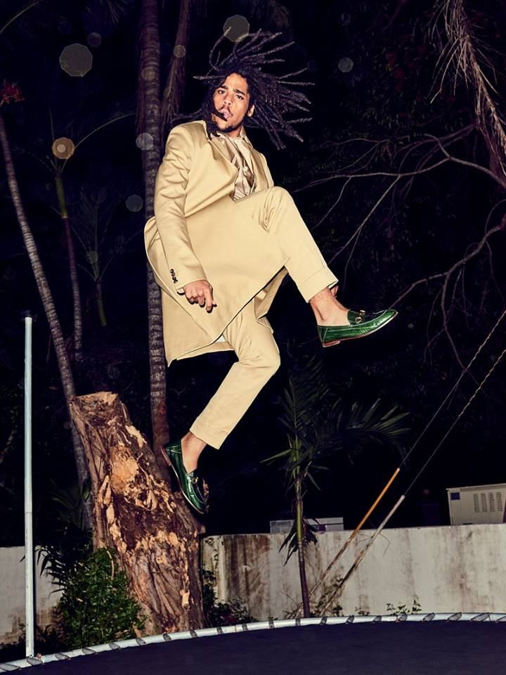 Skip Marley. Image courtesy GQ