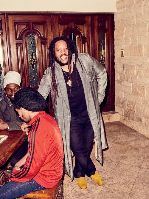 Stephen Marley. Image courtesy GQ