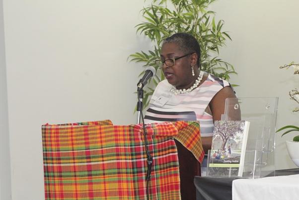 Compere Dawn Thomas. Photo courtesy CaribDirect