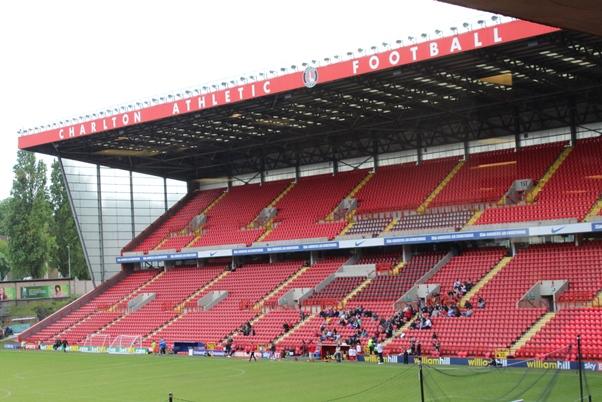 Charlton Athletic Football Club. Photo courtesy David F. Roberts