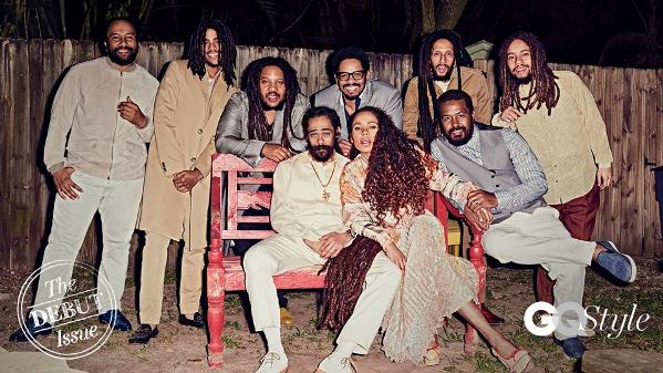 The Marley Family. Image courtesy GQ