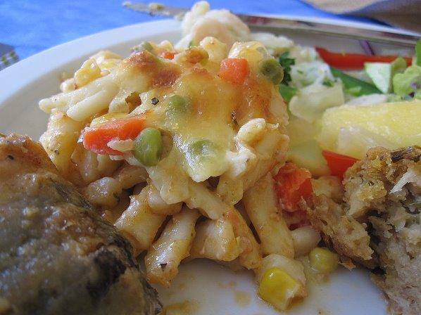 Traditional cuisine of Barbados. Photo courtesy www.popsugar.com