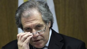 Secretary General Luis Almagro. Photo courtesy www.telesurtv.net