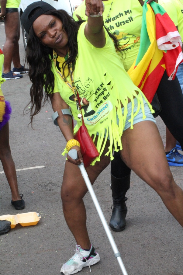 Crippled woman got bitten by soca music and discovered she could walk again. Hallelujah! Photo courtesy CaribDirect