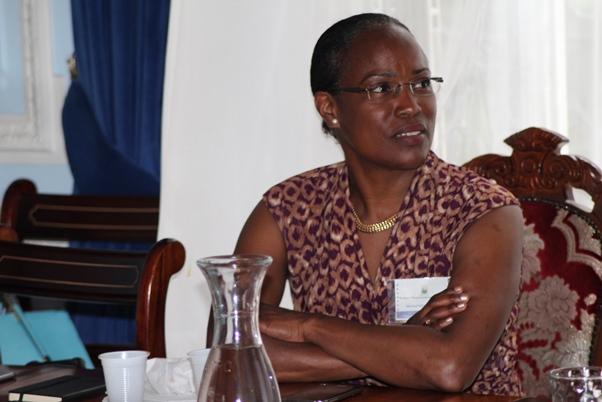 Mrs. Elisabeth Mullings Smith, hydrogeologist (groundwater engineer) and managing director MAYA BLUE Limited. Photo courtesy CaribDirect