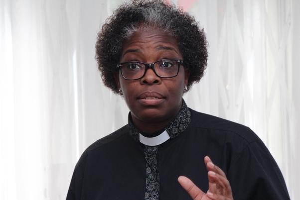 Reverend Katei Kirby. Photo courtesy CaribDirect