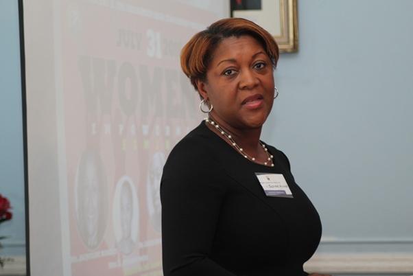 JIC Holdings representative, Ms. Susanne Wilkinson. Photo courtesy CaribDirect
