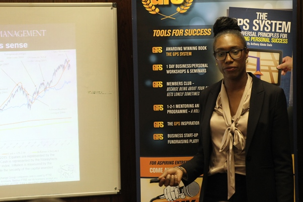 Investment and retirement planning specialist Makala Green. Photo courtesy CaribDirect