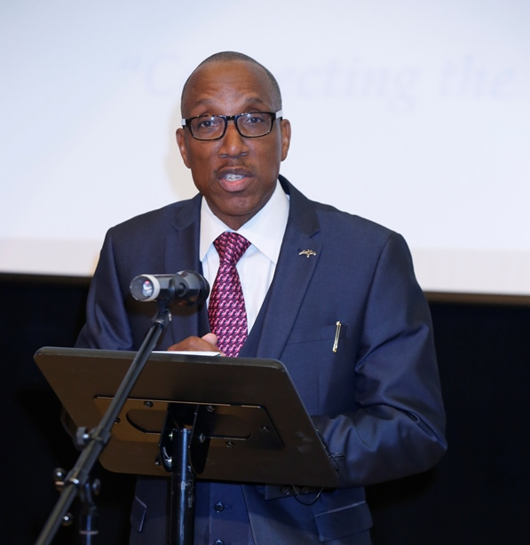 David F. Roberts, founder of CaribDirect Multi-Media and Jus' Caribbean Festival. Photo courtesy CaribDirect