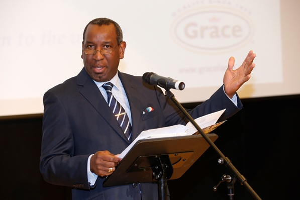 Grace Foods Caribbean Food and Drink Conference director, Bertram Leon. Photo courtesy CaribDirect