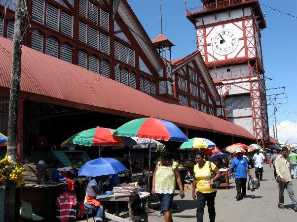 THe iconic Stabroek Market. Photo courtesy WorldTeach