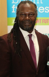 Levi Roots, dragon slayer and celebrity chef. Photo courtesy CaribDirect