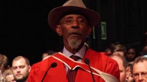 Reggae poet Linton Kwesi Johnson