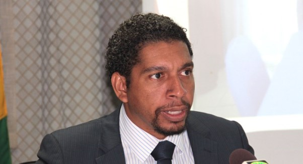 Minister representing St Vincent and the Grenadines, Camillo Gonsalves. Photo courtesy http://www.999wefm.com