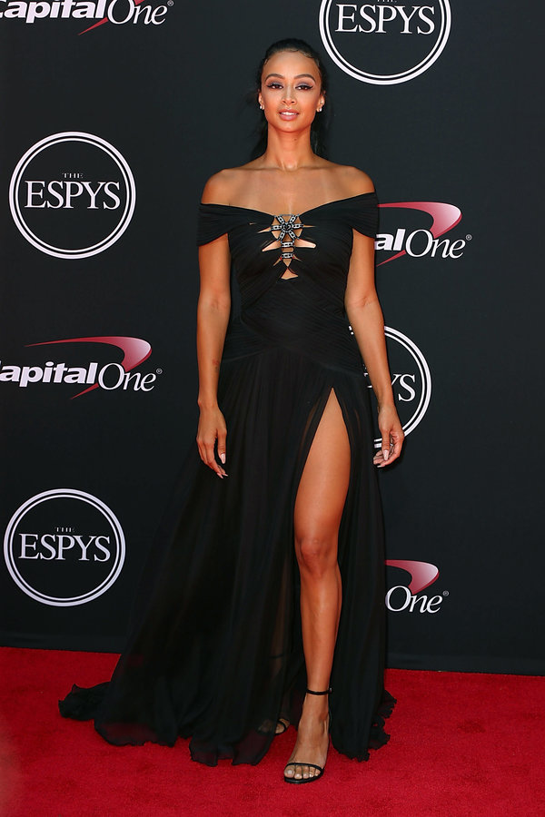 LOS ANGELES, CA - JULY 12:  Draya Michele arrives at the 2017 ESPYS at Microsoft Theater on July 12, 2017 in Los Angeles, California.  (Photo by Joe Scarnici/WireImage)