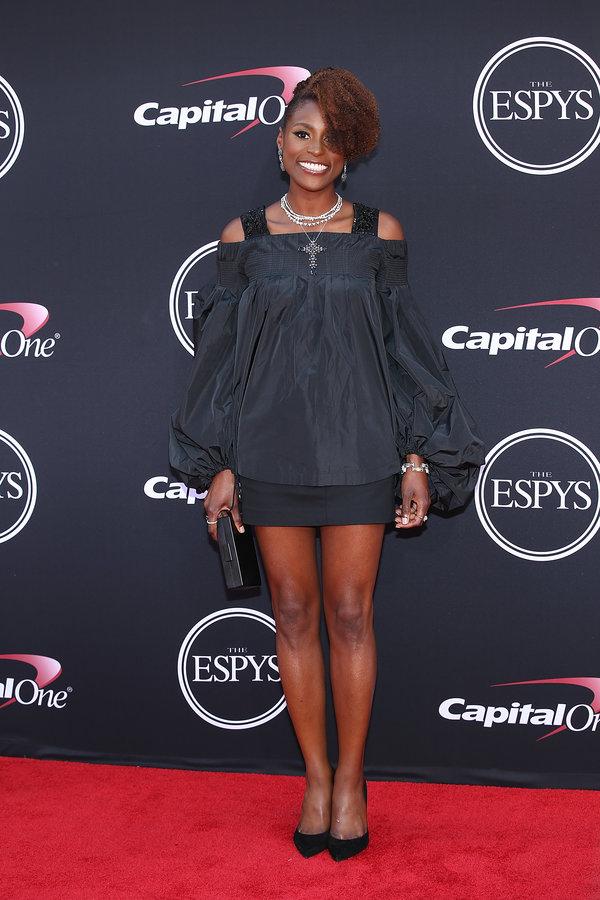 LOS ANGELES, CA - JULY 12:  Issa Rae attends The 2017 ESPYS at Microsoft Theater on July 12, 2017 in Los Angeles, California.  (Photo by Phillip Faraone/Patrick McMullan via Getty Images)