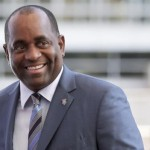 Prime Minister Roosevelt Skerrit. Photo courtesy http://www.q95da.com