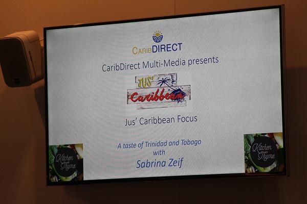 Jus Caribbean promo