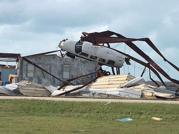 BVI Airport after Irma. Photo courtesy http://www.virginislandsdailynews.com