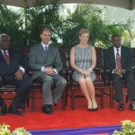 ROYAL VISIT UNDERWAY IN ST. KITTS AND NEVIS