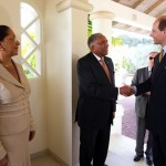 The Earl and Countess of Wessex Visit Grenada Resort